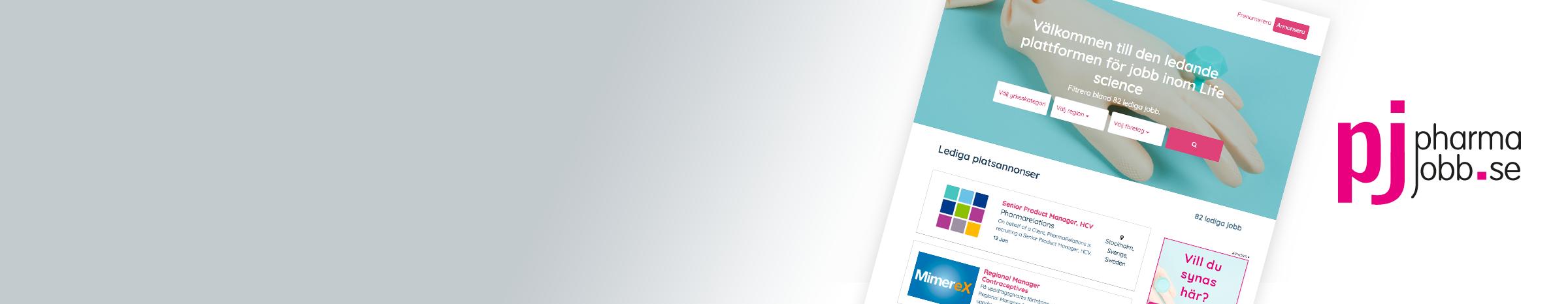 Håll dig uppdaterad på de senaste lediga tjänsterna inom Life Science på Pharmajobb.se